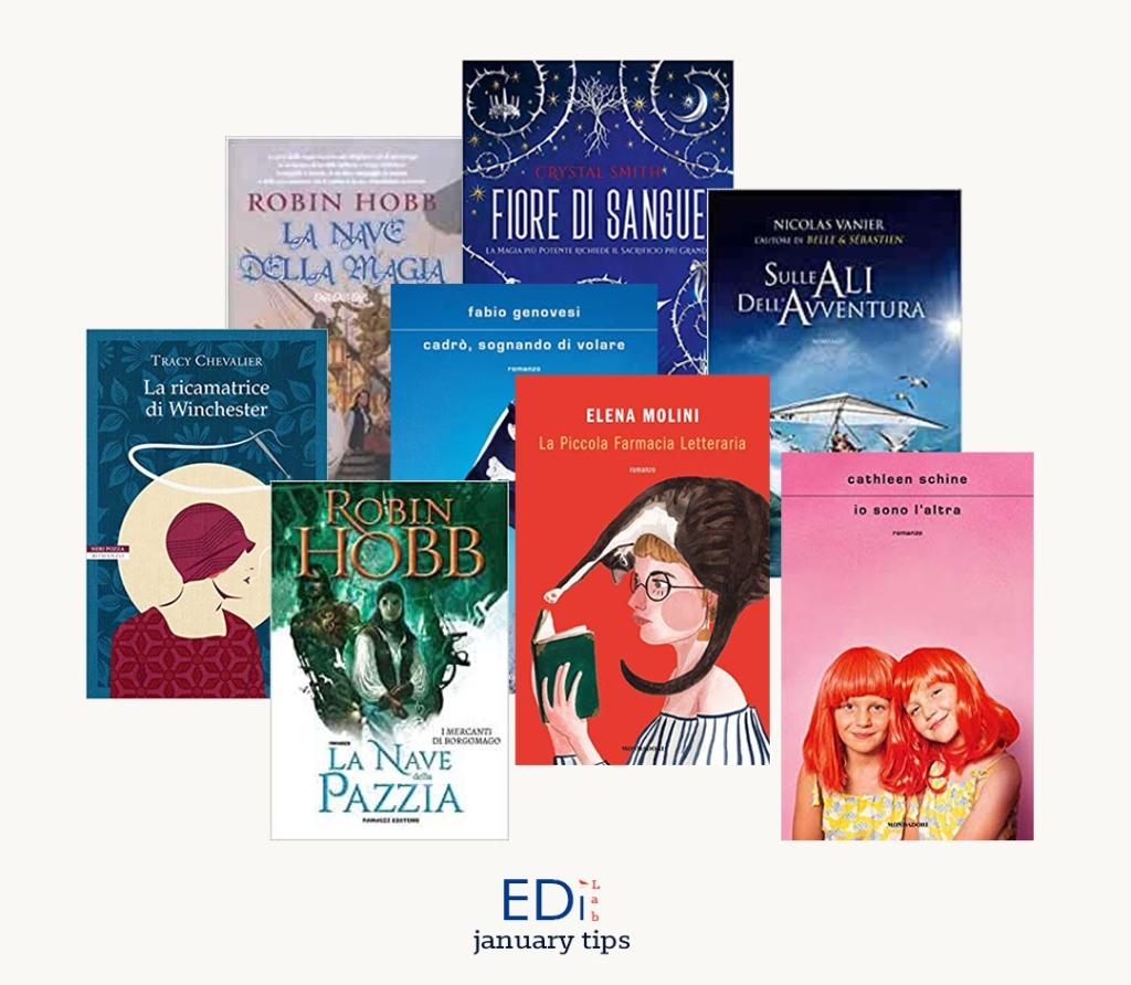 EdiLab copertine novità editoriali gennaio 2020 libri casa editrice digitale books