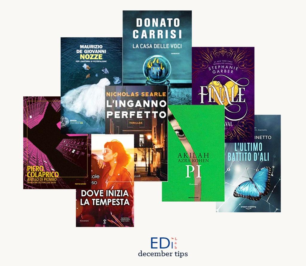 EdiLab copertine novità editoriali dicembre 2019 libri casa editrice digitale books