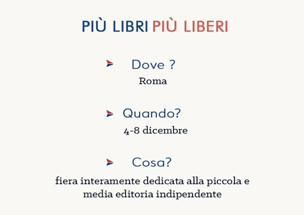 Locandina EdiLab più libri più liberi Roma 2020 libri casa editrice digitale books