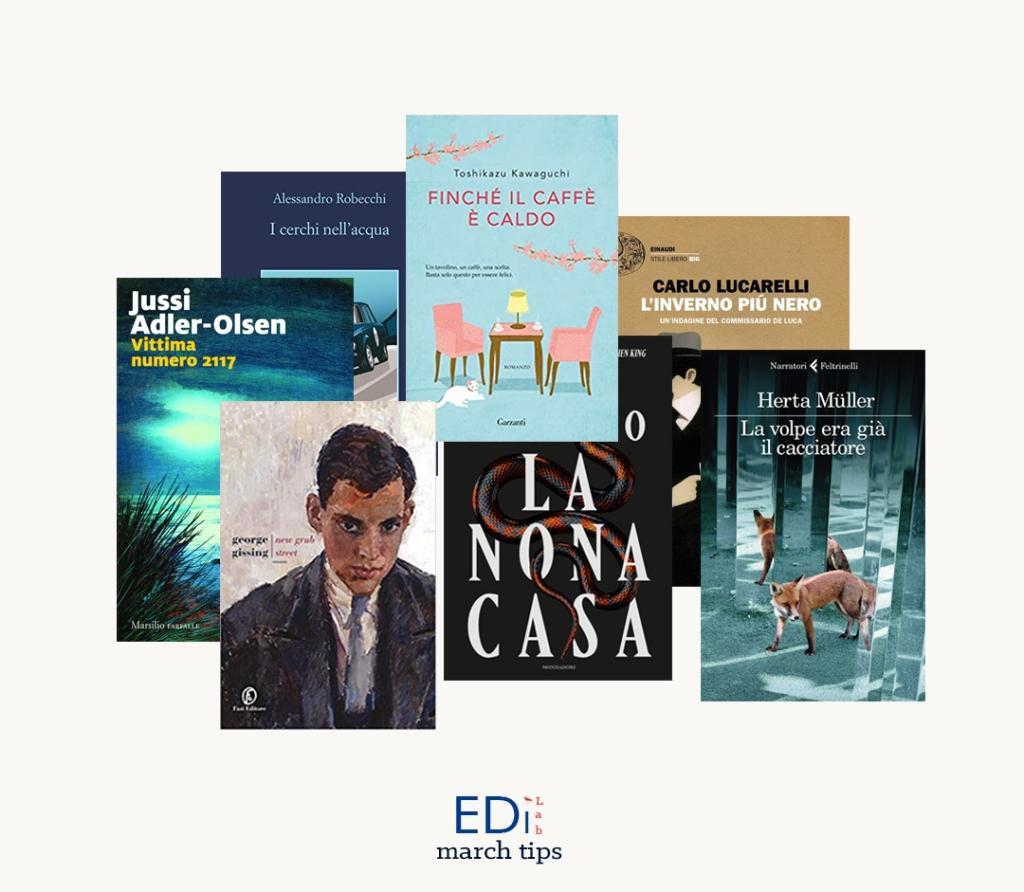 Collage EdiLab copertine novità editoriali marzo 2020 libri casa editrice digitale